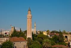 Minaret de Yivli, Antalya Photographie stock