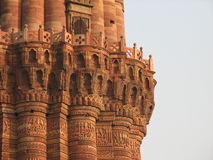 Minaret detail royalty free stock photography