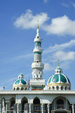 Minaret And Dome Of The Mosque Stock Photo