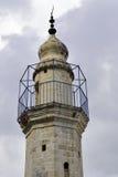 Minaret du ressort de Mary, Jérusalem Images libres de droits