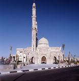 Minaret in Egypte Stock Afbeelding