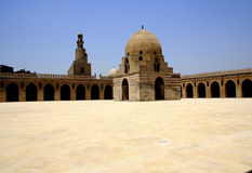 Minaret et dôme spiralés Images libres de droits