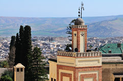 Minaret in Fes Royalty Free Stock Images