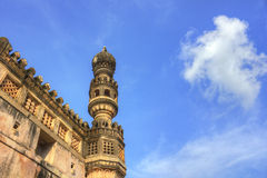 Minaret in Golkonda Fort Stock Images