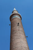 The Minaret of Grand Mosque, Kayseri. Stock Images