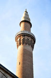 Minaret of Great Mosque, Bursa, Turkey Royalty Free Stock Image