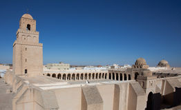 Minaret of the Great Mosque in Kairouan Stock Photos