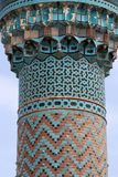 The Minaret of Green Mosque, Iznik. Royalty Free Stock Image