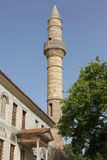 Minaret of Hadji Hassan mosque, Kos Stock Photo