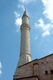Minaret on the Hagia Sophia Stock Photography