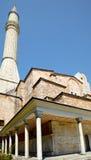 The minaret of Hagia Sophia, Istanbul Royalty Free Stock Photo