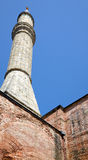 The minaret of Hagia Sophia, Istanbul Stock Photography