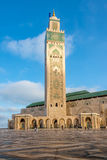 Minaret of Hasan II, mosque in Casablanca - Morocco Stock Photography
