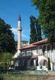 Minaret i Khan ` s pałac w Bakhchisaray Zdjęcie Stock