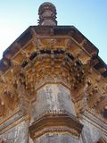 A Minaret of Ibrahim Roza, Bijapur. Ibrahim Roza is the mausoleum complex and a must visit place in Bijapur, Karnataka... There are beautiful 24 meter tall Royalty Free Stock Photography