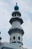 Minaret of India Muslim Mosque in Klang Stock Photos
