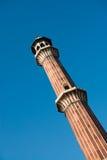 Minaret Jama Masjid Mosque, Dehli, India Royalty Free Stock Image