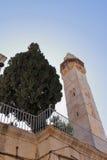 Minaret - Jerusalem - Israel Royaltyfri Foto
