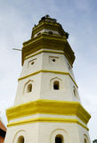 Minaret of Kampung Duyong Mosque in Malacca Royalty Free Stock Images
