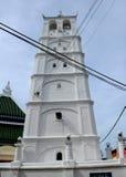 Minaret of Kampung Kling Mosque at Malacca, Malaysia Stock Photography
