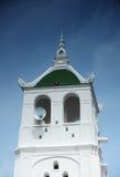 Minaret of Kampung Kling Mosque at Malacca, Malaysia Royalty Free Stock Photography