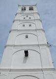Minaret of Kampung Kling Mosque at Malacca, Malaysia Royalty Free Stock Image
