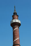 The Minaret of Kantarcilar Mosque, Istanbul. Royalty Free Stock Photography