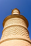 Minaret of Kharanagh Village, Iran Stock Photos
