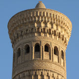 Minaret at khiva Royalty Free Stock Photos