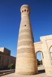 Minaret Khoja Kalon in Bukhara Stock Photos