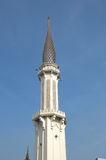 Minaret of Klang Royal Town Mosque a.k.a Masjid Bandar Diraja Klang Stock Photo
