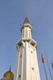 Minaret of Klang Royal Town Mosque a.k.a Masjid Bandar Diraja Klang Stock Photo