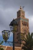 The Minaret of the Koutoubi Stock Image