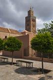 The Minaret of the Koutoubi Royalty Free Stock Photos