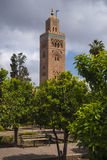 The Minaret of the Koutoubi Stock Photo