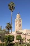 Minaret of Koutoubia mosque, Marrakesh Royalty Free Stock Image
