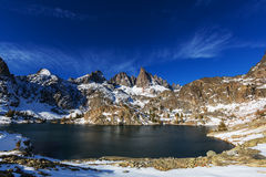Minaret lake Royalty Free Stock Image