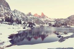 Minaret lake Stock Photography