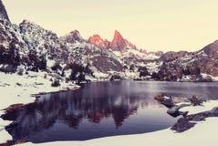 Minaret lake Stock Images