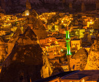 Minaret landscape Cappadocia Turkey Royalty Free Stock Photo