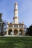 Minaret in Lednice Royalty Free Stock Photo