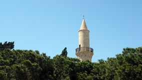 Minaret in limassol city Royalty Free Stock Image