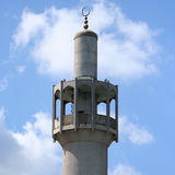 Minaret of London Mosque Royalty Free Stock Images