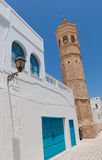 Minaret in Mahdia Royalty Free Stock Photos