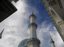 Minaret of Masjid Ahmad Shah 1 Royalty Free Stock Photo