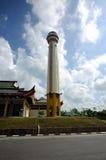 Minaret Masjid Jubel Perak sułtanu Ismail Petra a K A Masjid Pekin obraz stock