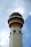 Minaret Masjid Jubel Perak sułtanu Ismail Petra a K A Masjid Pekin fotografia stock