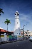 Minaret of Masjid Kampung Hulu in Malacca, Malaysia Stock Image