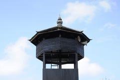 Minaret of Masjid Kampung Laut at Nilam Puri Kelantan, Malaysia Stock Photography