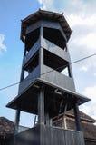 Minaret Masjid Kampung Laut przy Nilam Puri Kelantan, Malezja zdjęcie stock